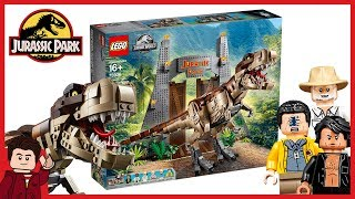 LEGO Jurassic Park D2C - T-Rex Rampage 75936 OFFICIAL Reveal
