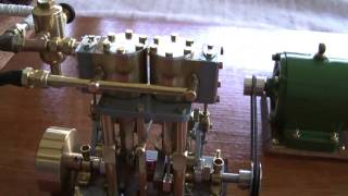 "Home Made ""Toy"" Steam Powered Generator Plant"