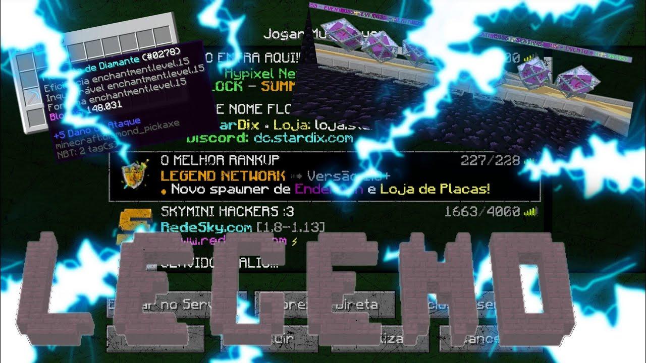 ⏯️ ME ENCONTREI NO MELHOR RANKUP (legendMagia) - Minecraft