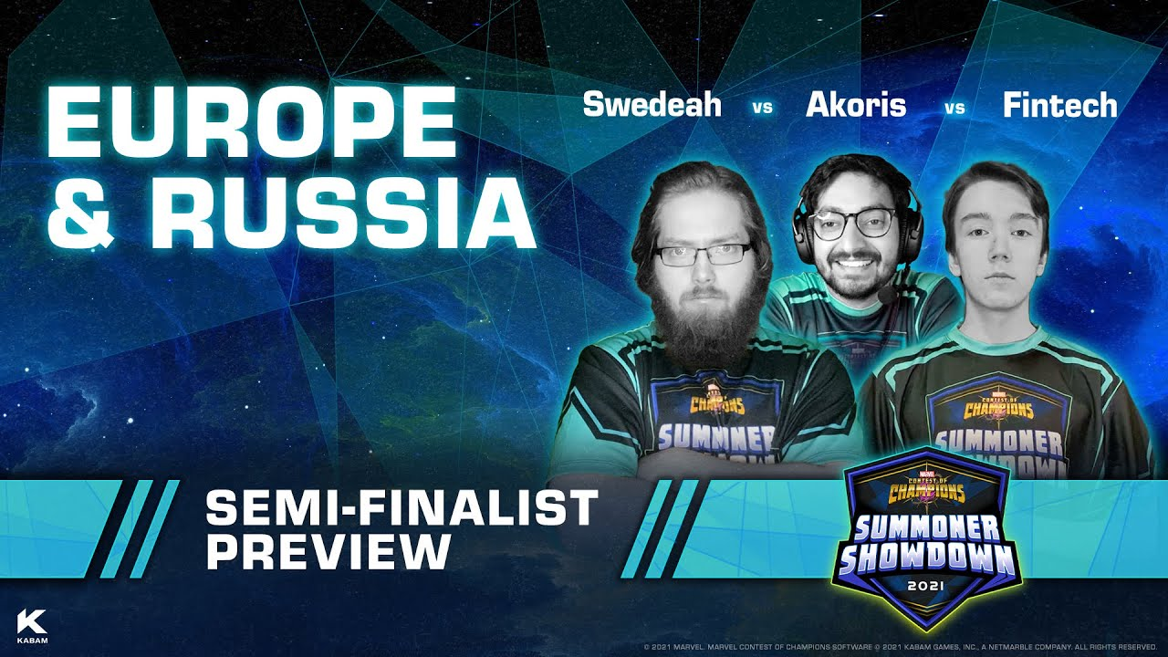 Summoner Showdown Semi-Finalist Preview: Europe and Russia   Marvel Contest of Champions