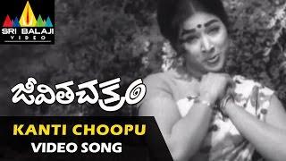 Jeevitha Chakram Video Songs | Kanti Choopu (Female) Video Song | NTR, Vanisri | Sri Balaji Video
