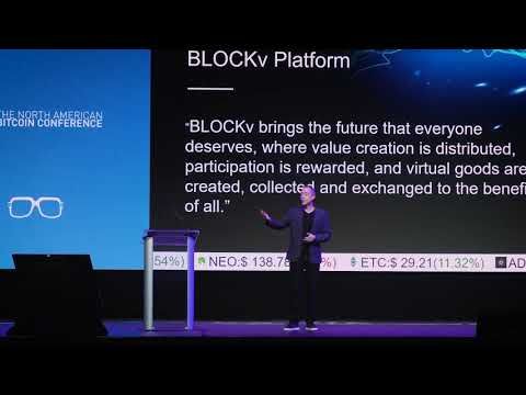 Reeve Collins   BlockV   The North American Bitcoin Conference 2018