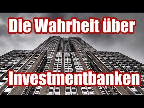 Die Wahrheit über Investmentbanken - Was macht Goldman Sachs wirklich?