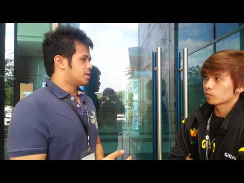 SMM '12 - Interview with iZone before the grand final