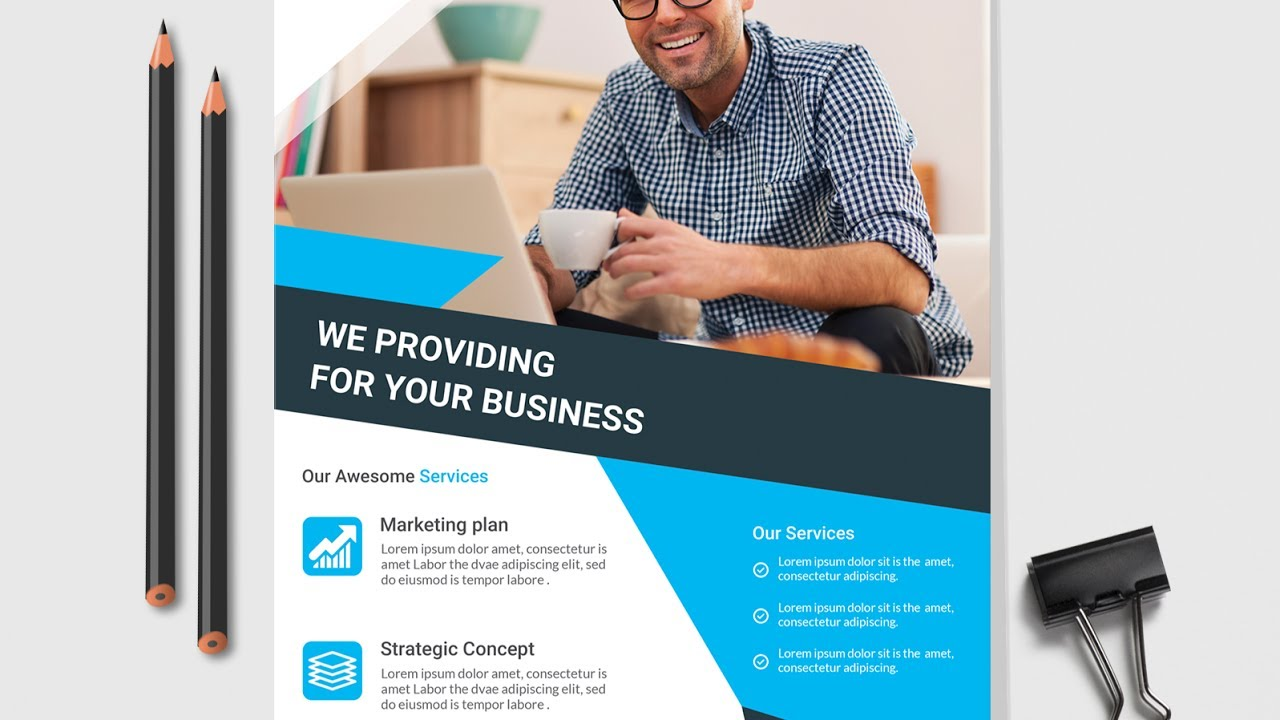 Free Flyer Design Template - How to create a Flyer for your Business ...