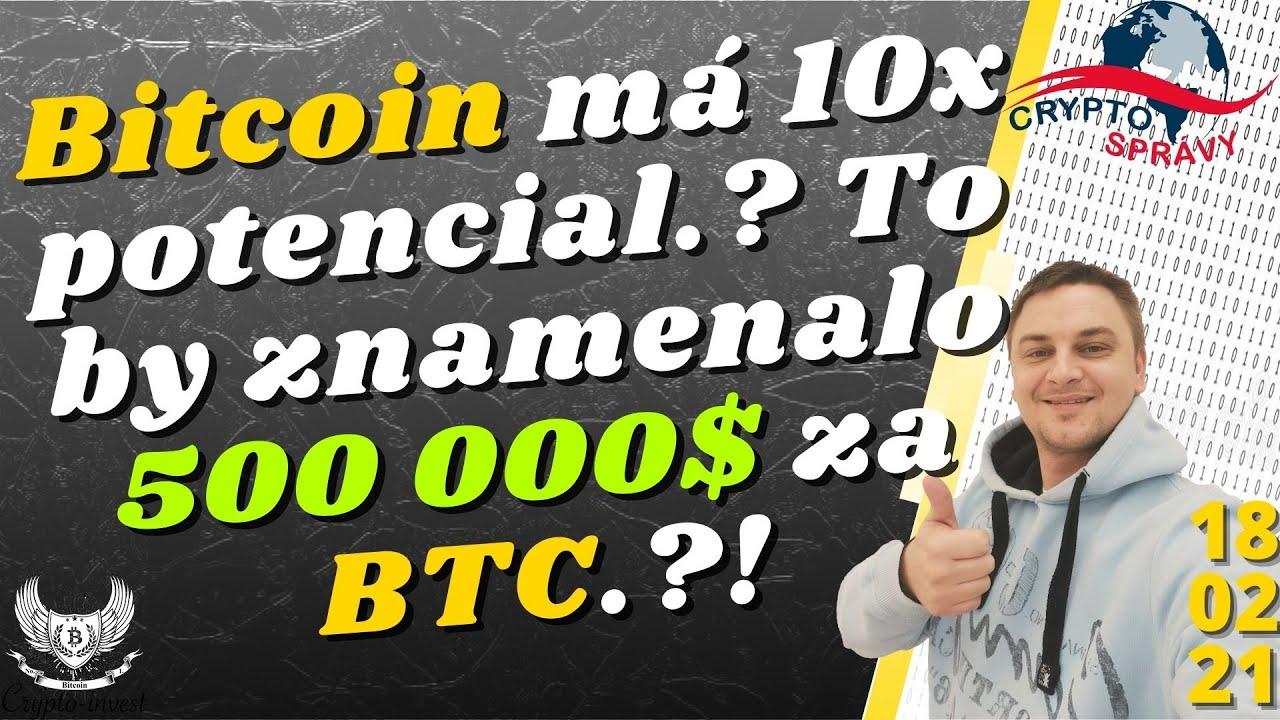bitcoin potenciál