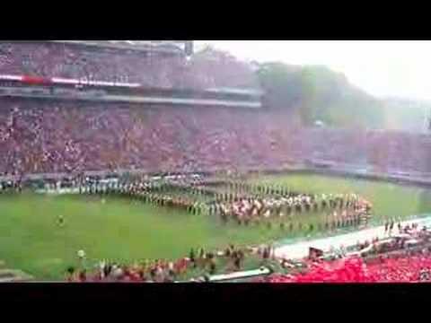 Georgia Redcoat Band Glory Glory fight song