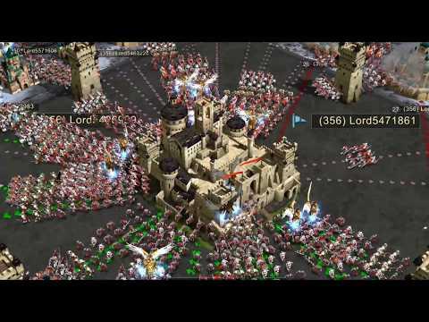 Crown Wars Test Massive Battles - War and Order