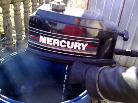 Mercury 4 hp outboard motor 1996r 2 stroke dwusuw youtube for 2 2 mercury outboard motor