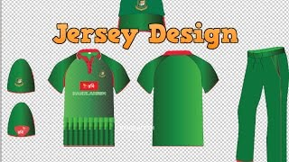 How to draw Cricket Jersey