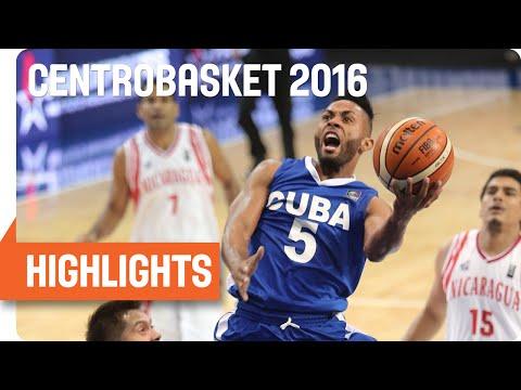 Nicaragua (NCA) v Cuba (CUB) Game Highlights - Group A - 2016 FIBA Centrobasket Championship