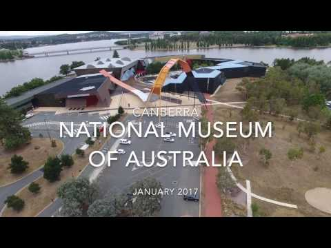 DJI Phantom 4 - National Museum of Australia & Telstra Tower, Canberra (4K)