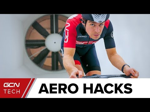 Aero Hacks In The Wind Tunnel | Cycle Faster For Free