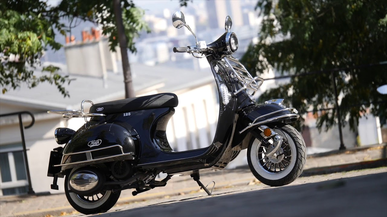 scooter mash sixty 125cc youtube. Black Bedroom Furniture Sets. Home Design Ideas