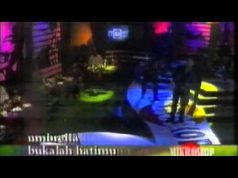 Umbrella-Bukalah Hatimu Live @ Mikroskop TV3.m4v