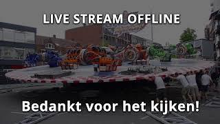 Kermiscity LIVE - Opbouw Tilburgse kermis, 17 juli