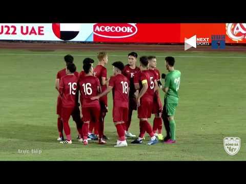 FULL HD | U22 VIỆT NAM - U22 UAE | GIAO HỮU QUỐC TẾ TRƯỚC THỀM SEAGAME 30| Bóng Đá Việt