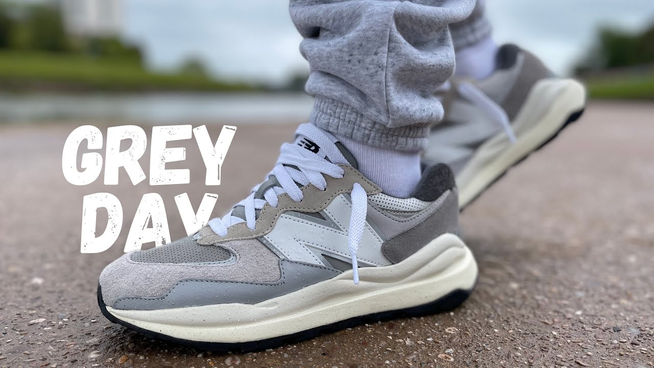 These Are Seriously GOOD! New Balance 57/40 Grey Day Review & On Foot
