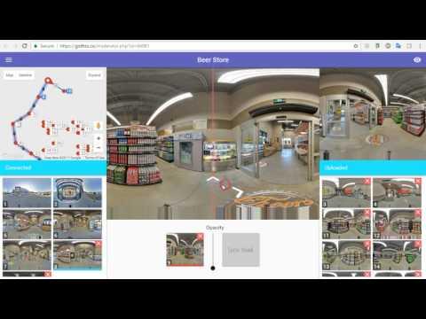 GoThru Street View Editor moderates 27 Panoramas in 20min