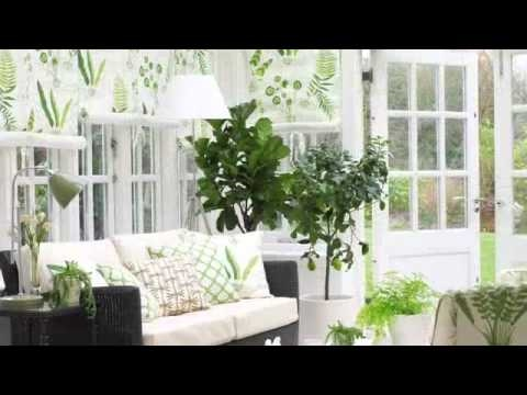 How to create a pretty conservatory