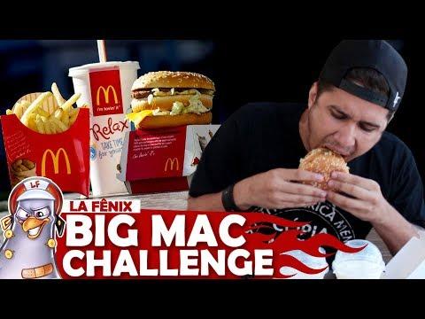 DESAFIO DO BIG MAC | BIG MAC MEAL CHALLENGE
