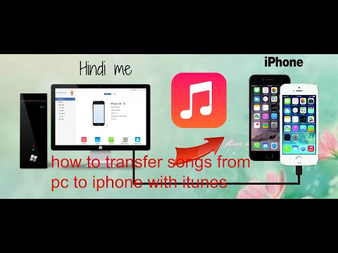 how to transfer songs from pc to iphone (Fast Hindi)