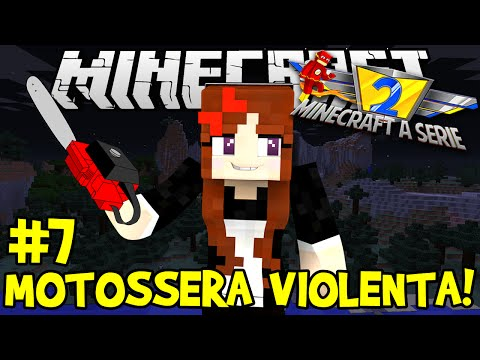 Minecraft: A SÉRIE 2 #7 - A MELHOR MOTOSERRA DO MUNDO! - Minecraft