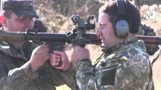 Стрельба из РПГ в зоне АТО