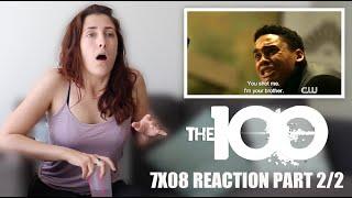 "THE 100 7X08 ""ANACONDA"" REACTION PART 2/2"