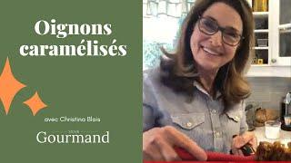 OIGNONS CARAMÉLISÉS - Le labo culinaire de Christina (1)