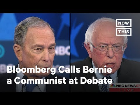 Bloomberg Called Bernie a Communist at the Nevada Debate | NowThis