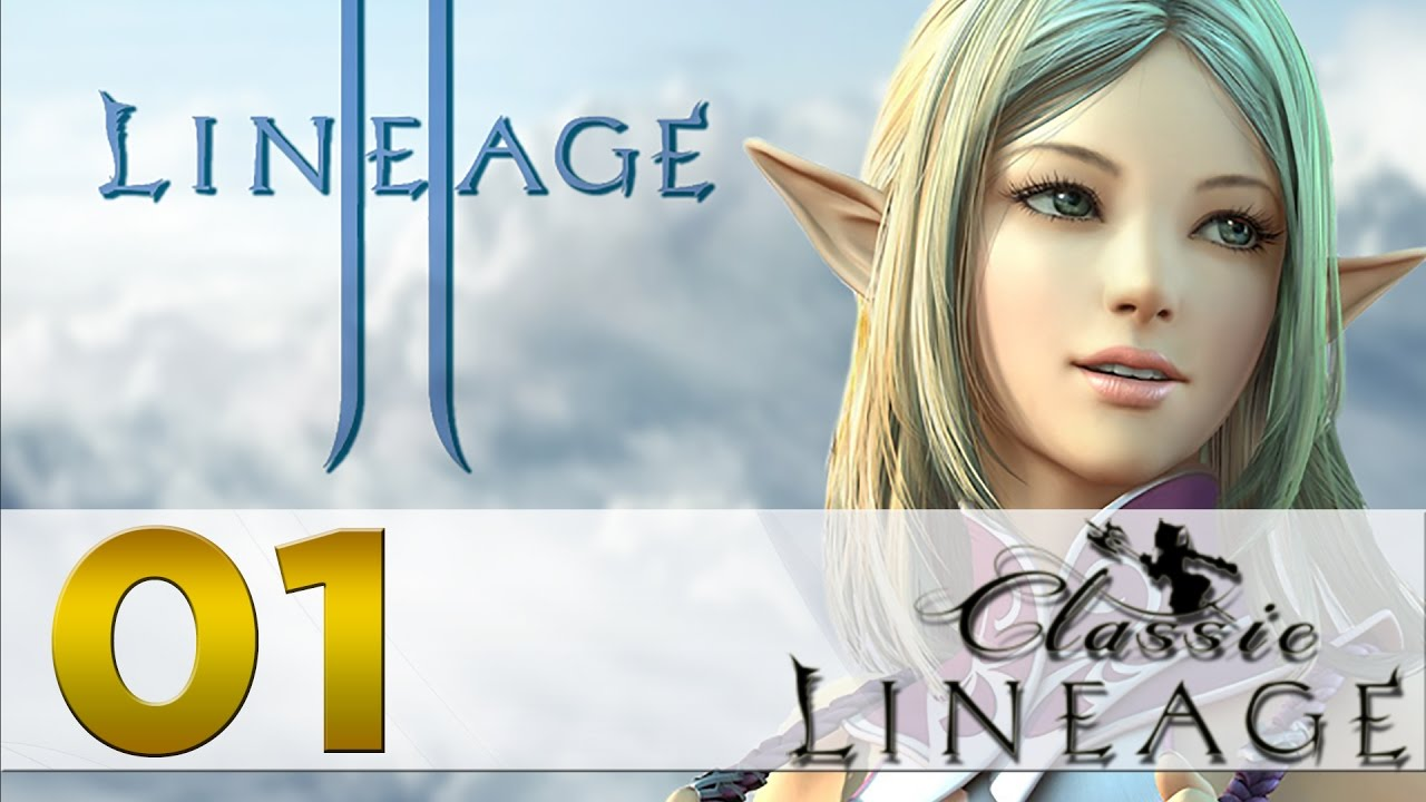Lineage 2 Classic Episode 01 Grinding Begins Youtube