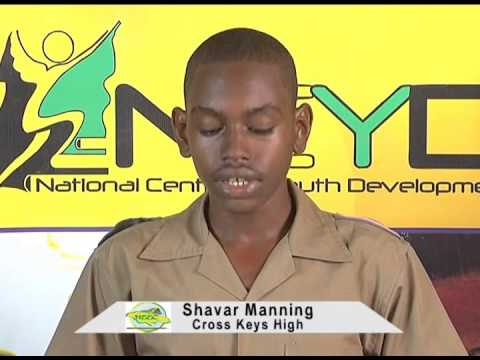 Shavar Manning-Cross Keys High:Candidate for National Public Relations Officer 2014