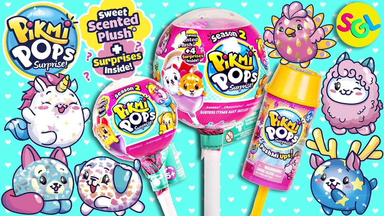 Pikmi Pops Surprise Season 2 Pushmi Ups Confetti Single
