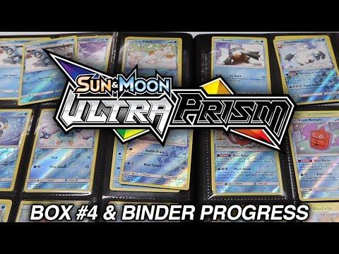 ULTRA PRISM Box #4 & Binder Collection Set Progress