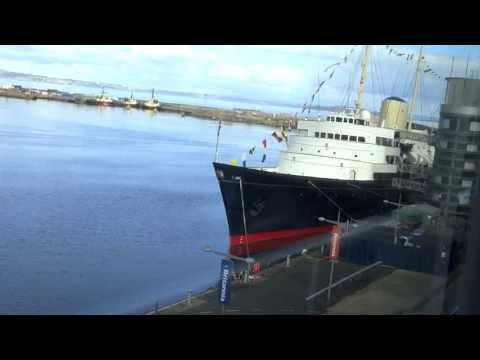 Royal Yacht Britannia Video Tour
