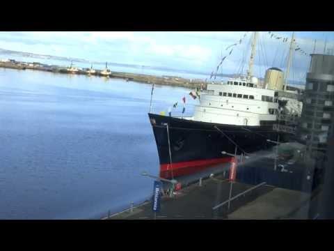 Royal Yacht Britannia Video Tour