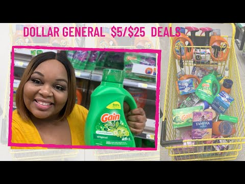 Dollar General $5/$25  Deals For Saturday 04/011/2020  Budget Boss Coupons