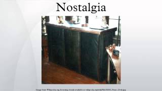 Video Nostalgia download MP3, 3GP, MP4, WEBM, AVI, FLV Agustus 2017