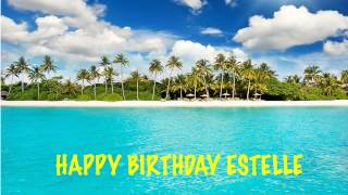 Estelle Birthday Beaches Playas
