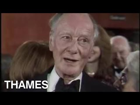 British acting legend | Sir John Gielgud interview | Chariots of fire | Film Premier | 1981