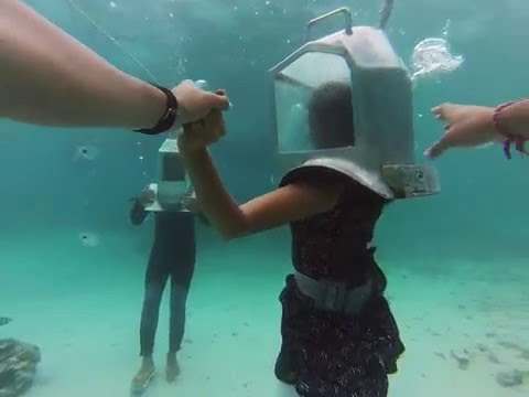Underwater Sea Walk in Mauritius | Honeymoon