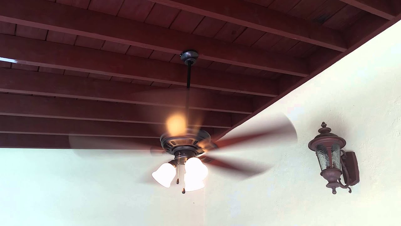 home decorators collection 52 gazelle outdoor fan   youtube