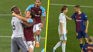 #football Best fights and angry moments in football. Famous players' fights. Don't miss the video.