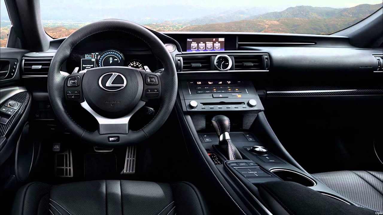 2016 lexus rc f review interior exterior outside inside youtube. Black Bedroom Furniture Sets. Home Design Ideas