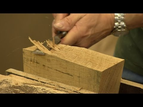 How to make a Joiners Mallet (part 1) | Paul Sellers