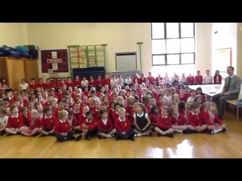 'One World To Share' ~ our song celebrating Refugee Week sung by St. Teresa's Primary School.