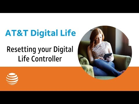 Resetting your Digital Life Controller | AT&T Digital Life