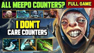 WTF Zero Death vs Full Counterpick Team - Insane Micro Meepo full gameplay by inK-