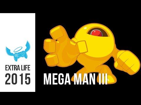 Let's Stream Mega Man III (blindfolded) - Extra Life 2015